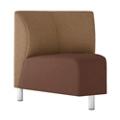 Modular Vinyl 45° Corner Chair, 76444