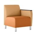 Modular Vinyl Left Arm Chair, 76446