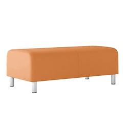 Modular Vinyl Two Seat Bench, 76448