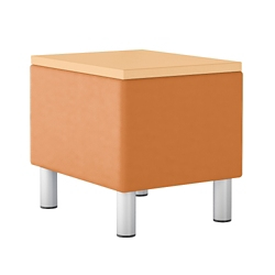 "Modular Vinyl End Table - 16""""W, 76451"