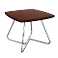 "Square Angled Base Lounge Table - 24""W x 24""D x 16""H, 76454"