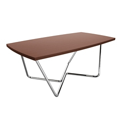 "Angled Base Coffee Table - 42""W x 24""D, 76456"