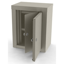 """Double Door Narcotic Locker - 12.125""""W x 8.125""""D, 26476"""