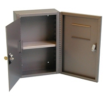 "Wall-Mounted Narcotics Safe - 9.5""W x 14.5""H, 31636"