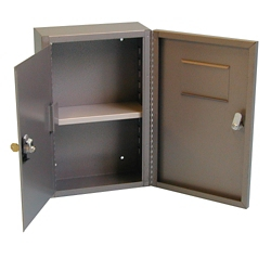 """Wall-Mounted Narcotics Safe - 9.5""""W x 14.5""""H, 31636"""