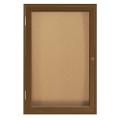 "Wood Frame Corkboard - 24""W x 36""H, 80129"