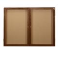 "Wood Frame Corkboard - 60""W x 36""H, 80131"