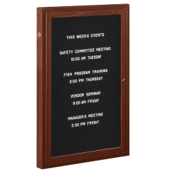 """Outdoor Directory Board 18""""W x 24""""H, 80238"""