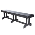 "Recycled Plastic Bench - 72""W , 80555"