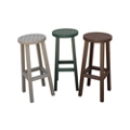 Recycled Plastic Bar Stool, 80556