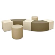 Seven Piece Modular Bench, 82072