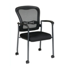 Mesh Back Guest Chair with Casters, CD03202