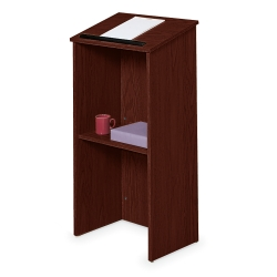 Full Floor Lectern with Shelf, 90308