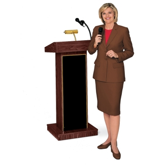 Lectern with Amplifier, 90311