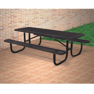6' Wide Rectangular Outdoor Table, 91368