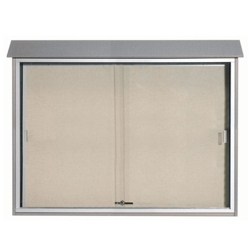"Sliding Door Outdoor Message Center - 52""W x 40""H, 80316"