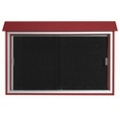"Sliding Door Outdoor Message Center - 45""W x 30""H, 80317"