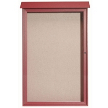 "Single Hinged Door Outdoor Message Center - 38""W x 54""H, 80321"