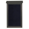 "Single Hinged Door Outdoor Message Center - 26""W x 42""H, 80322"