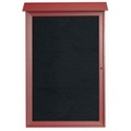 "Single Hinged Door Outdoor Message Center - 32"" W x 48""H, 80323"
