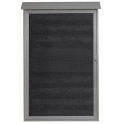 """Single Hinged Door Outdoor Message Center - 38""""W x 54""""H, 80324"""