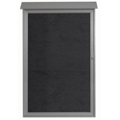 "Single Hinged Door Outdoor Message Center - 38""W x 54""H, 80324"