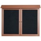 "Double Hinged Door Outdoor Message Center - 45""W x 36""H, 80329"