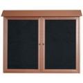 """Double Hinged Door Outdoor Message Center - 45""""W x 36""""H, 80329"""