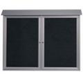 """Double Hinged Door Outdoor Message Center - 52""""W x 40""""H, 80330"""