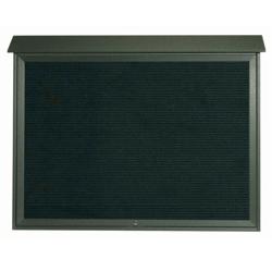 """Top Hinged Door Outdoor Message Center - 52""""W x 40""""H, 80336"""