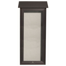 "Slimline Top Hinged Door Outdoor Message Center - 16""W x 34""H, 80338"