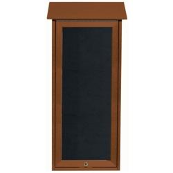 """Slimline Top Hinged Door Outdoor Message Center - 16""""W x 34""""H, 80340"""