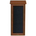 "Slimline Top Hinged Door Outdoor Message Center - 16""W x 34""H, 80340"