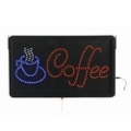 "Large LED Coffee Sign - 13""W x 22""H, 87353"
