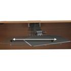 Black Articulating Keyboard Tray, CD07446