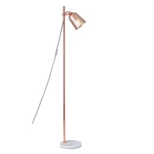 Amber Glass Shade Floor Lamp, 82575