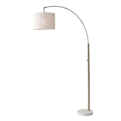 Arc Floor Lamp with Marble Base, 82582