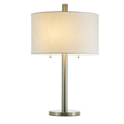 Table Lamp With Two Pull Chains, 87328