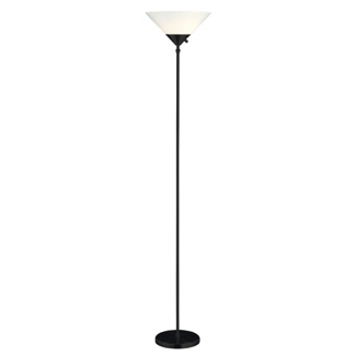 Black Hi/Low Floor Lamp, 87557