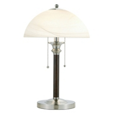 Traditional Glass Shade Table Lamp, 87566