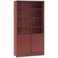 """68""""H Six Shelf Bookcase with Doors, 32141"""