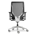 Mid-Back Mesh Task Chair - Aluminum Base, 57027