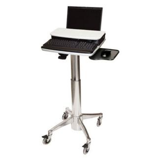 Locking Adjustable Height Laptop Cart, 61001