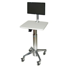 Adjustable Height Monitor Cart, 61009