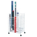 Tiered Roll File with 24 Openings, 36323