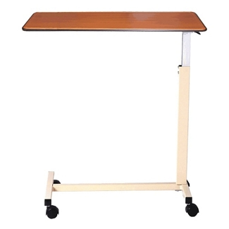 """Deluxe Overbed U-Base Table with Thermoformed Top - 30""""W, 26178"""