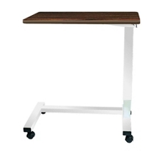 """Heavy Duty H-Base Overbed Table - 32""""W, 26182"""