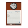 "Patient Dry Erase Board with Clock - 25.5""W x 36""H, 26197"