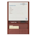 "Patient Dry Erase Board with Filing - 25.5""W x 36""H, 26199"