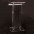 H Style Acrylic Lectern, 43311